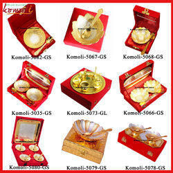 Brass Silver Plated Gift Sets Diwali Gifts Wedding Gifts