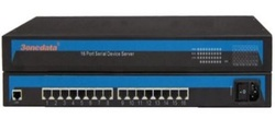 16-Port RS232/485/422 to Ethernet Server