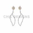 Gold Leaf Earrings Jewelry