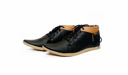 4d2fdde8e0a22 Men Shoes - Men s Black Synthetic Boots Retailer from Ludhiana