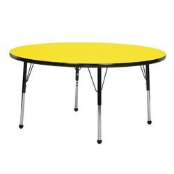Yellow Round Tables