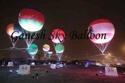Lit Advertising Sky Balloons