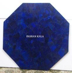 Octagonal Lapis Table Tops