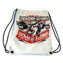 Printed Drawstring Gym Bag