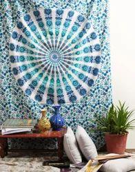 Printed Home Decoration Indian Wall Hanging Mandala Tapestry