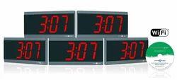 Wi-Fi Synchronized Digital Clock