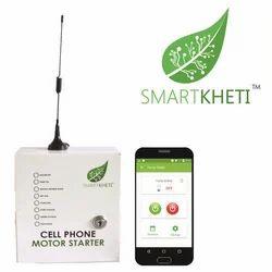 GSM Mobile Motor Pump Starter