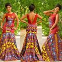 100% Cotton African Nigerian Print Wax Print For Men Women