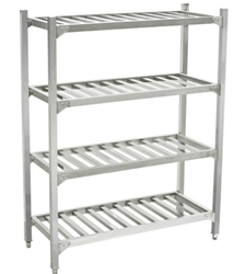 Steel Kitchen Tables - Stainless Steel Rack Exporter from New Delhi