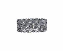 Flower Filigree Diamond Bracelet