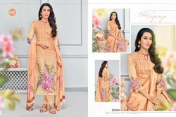 3/4 Sleeve Eleesaa Salwar Suit Fabric