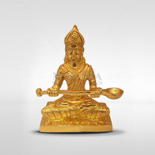 Gold Plated Annapoorani Idol