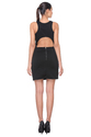 Designer One Piece Black Short Dress