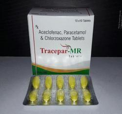 Aceclofenac Paracetamol Chlorzoxazone Tablet