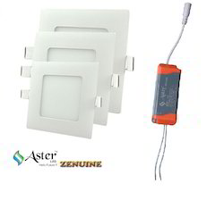 6w/12w/18w LED Slim Panel Lights Round And Square
