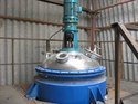 Stainless Steel Pressure Vessel With Agitator
