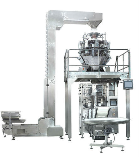 Automatic Form Fill & Seal Machine With Multihead Weigher