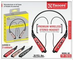 Treoops Tp-7015 Wireless Headset 810