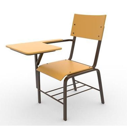 Etonnant Classroom Chair With Writing Pad