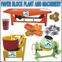 Paver Block Machinery Plant Setup