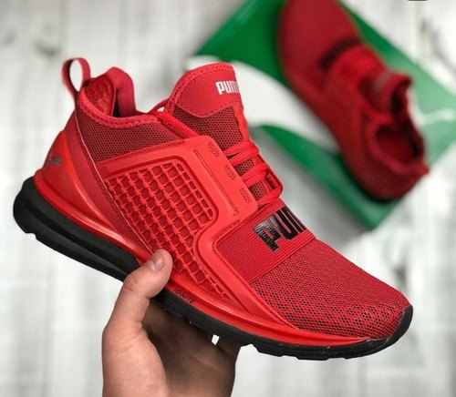 Men Puma Red Shoes, Size: 7-10, Rs 1850