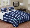 Shibori Tie Dye Print Bed Sheet