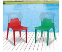 Red And Green Furniture Chair, Width: 425 Mm