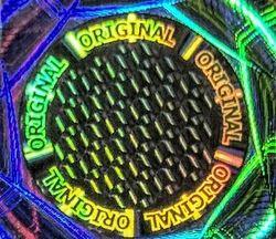 Original Security Hologram Label Sticker