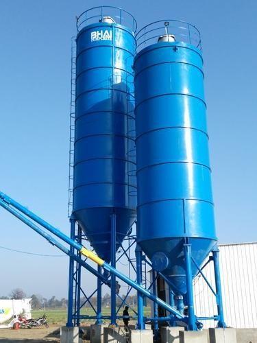 Cement Silo Silo 100 Ton Cement And 60 Ton Fly Ash