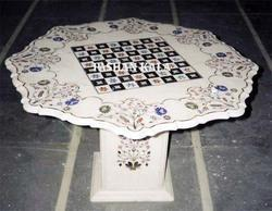 Marble Chess Table