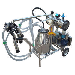 6 Point Milking Machine