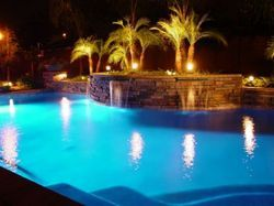 Pool Garden Lights