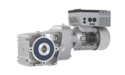 Decentralised Drives Geared motor with VFD
