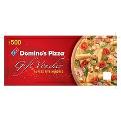 Dominos Pizza Gift Voucher
