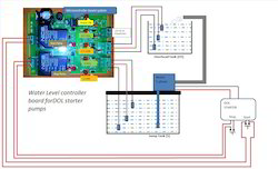 Water Level Controller Board (DOL Control )