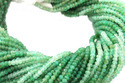 Chrysoprase Faceted Beads