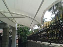 Cafeteria Covering Tensile Fabric Structure