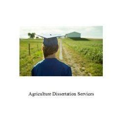 Agriculture Dissertation Services