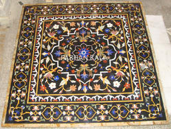Inlay Marble Dining Table Top