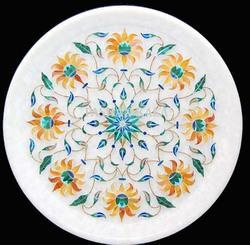 Marbles Inlay Craft Home Decoration