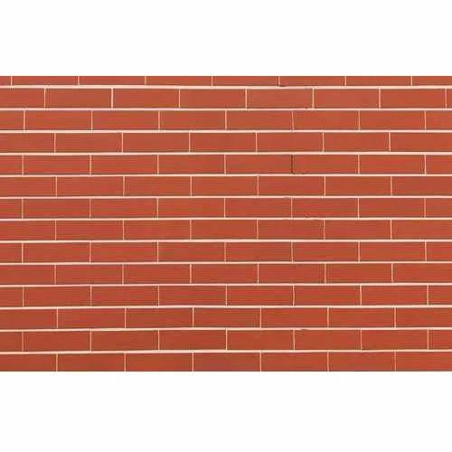 Brick style backsplash tiles