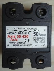4-20mA Double Phase Linear Solid State Power Modules SSR