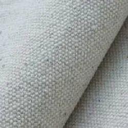Grey Canvas Fabric Fair Trade Organic Cotton GOTS