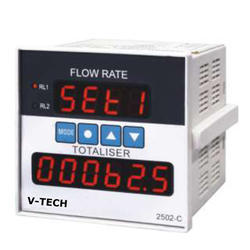 Digital Flow Rate Indicator and Totalizer