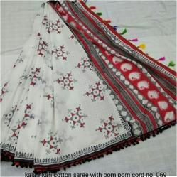 Cotton Kalamkari Saree