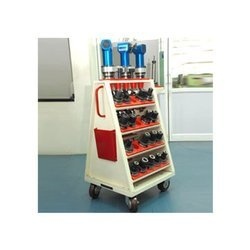 A Type CNC Tool Holder Trolley