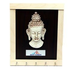 Key Holder With Buddha Murti