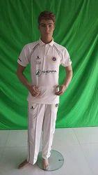 Custom Cricket White Clothing