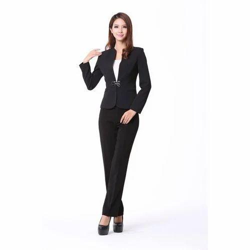 39ae47157db Ladies Formal Dress - Ladies Pant Style Formal Dress Manufacturer ...