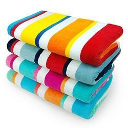 Caban Stripe Towels